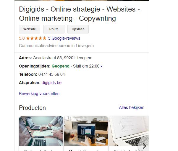 Gratis reclame Google Mijn Bedrijf