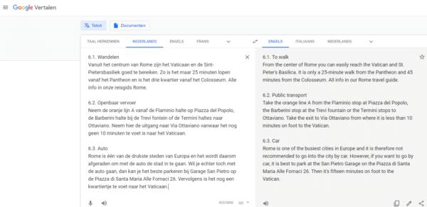 Vertalen met Google Translate? 5x aandachtspunten