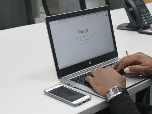 hoe zoeken we op Google