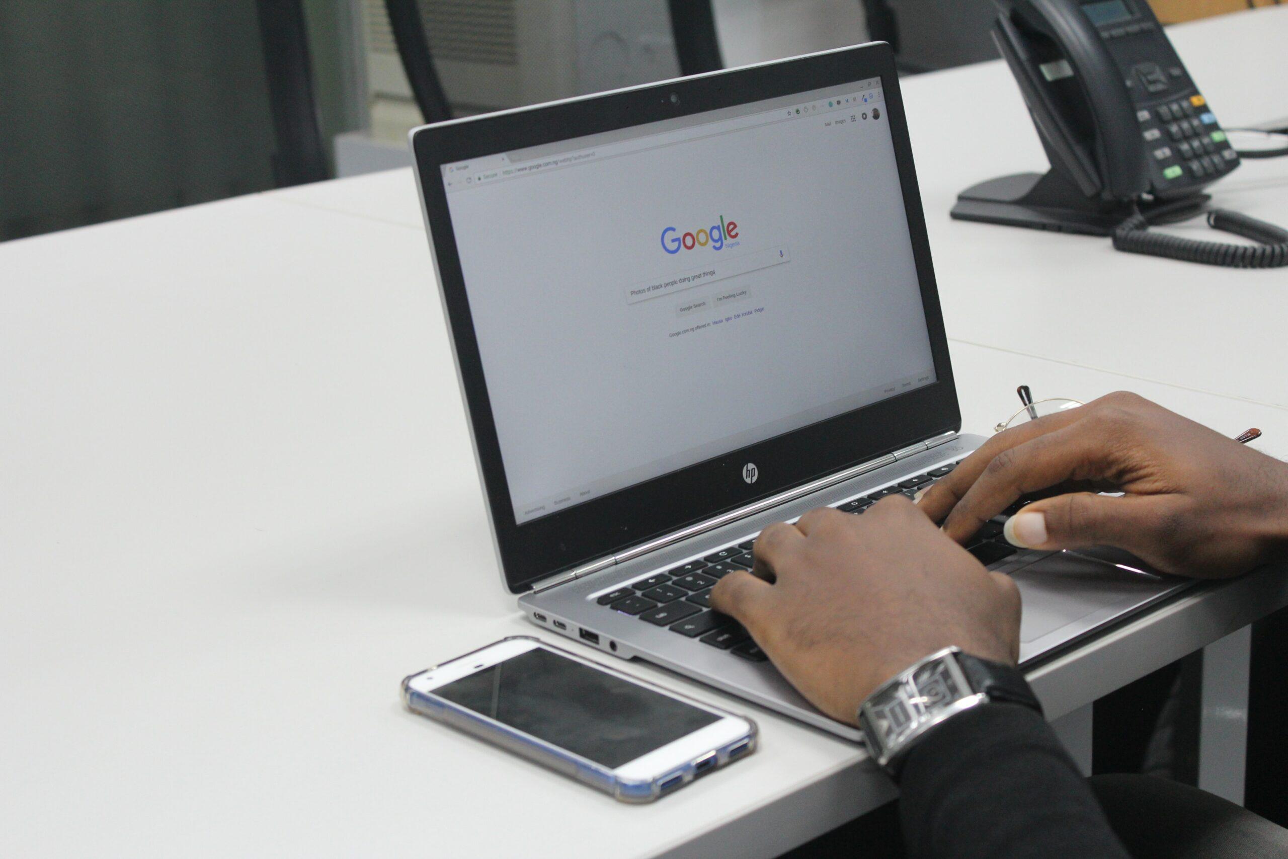 Hoe zoeken we op Google? Onderzoeksresultaten
